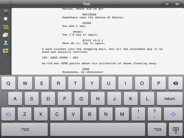 Scriptly For iPad